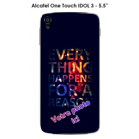Coque Alcatel One Touch IDOL 3 - 5.5""