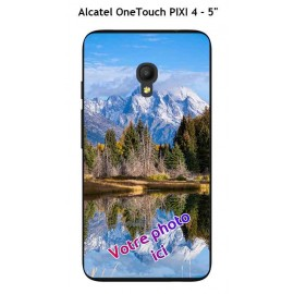 Coque TPU Gel Souple Alcatel OneTouch PIXI 4 - 5""