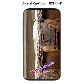 Coque TPU Gel Souple Alcatel OneTouch PIXI 4 - 4""