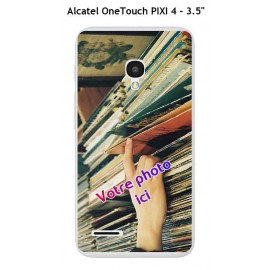 Coque TPU Gel Souple Alcatel OneTouch PIXI 4 - 3.5""