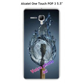Coque TPU Gel Souple Alcatel OneTouch POP 3 5.5""
