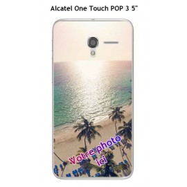 Coque TPU Gel Souple Alcatel OneTouch POP 3 5""