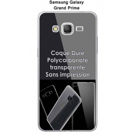 Coque Samsung Galaxy Grand Prime - SM-G531F Transparent